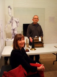 David and Rosie with Shaun Tan